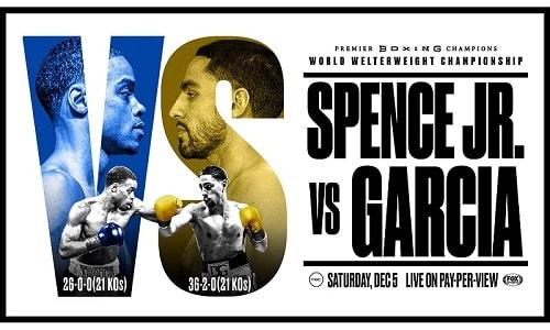 Watch PCB Errol Spence Jr. vs Danny Garcia 12/5/2020