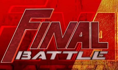 Watch ROH Final Battle 2020 12/18/2020 Full Show