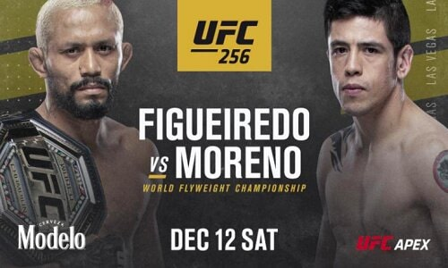 Watch UFC 256: Figueiredo vs. Moreno 12/12/2020 Full Show