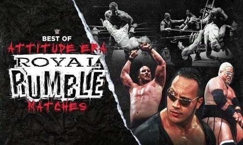 Watch WWE Best of The WWE E63: Best Of Attitude Era Royal Rumble