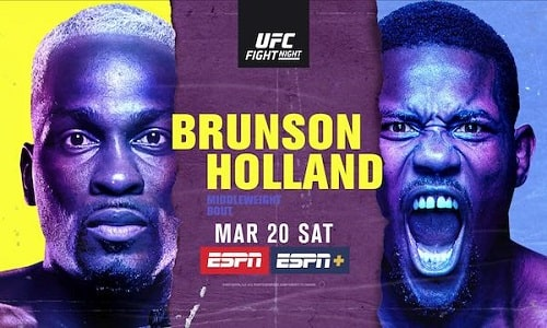 UFC Fight Night Vegas 22 Brunson vs. Holland