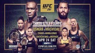 Watch UFC 261: Usman vs. Masvidal 2 4/24/21 Live Online