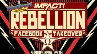 Watch iMPACT Wrestling: Rebellion 2021 4/25/21