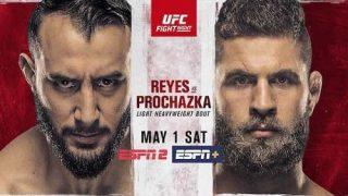 Watch UFC Fight Night Vegas 25: Reyes vs. Prochazka 5/1/21 Live Online