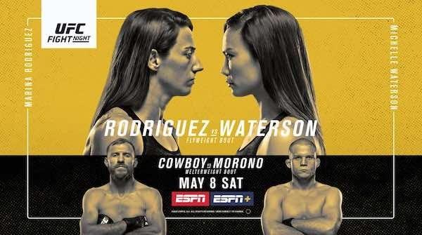 UFC Fight Night Vegas 26 Rodriguez vs. Waterson