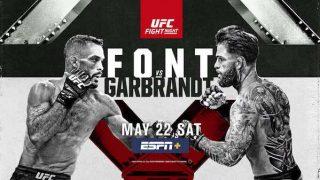 Watch UFC Fight Night Vegas 27: Font vs. Garbrandt 5/22/21 Live Online