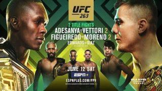 Watch UFC 263: Adesanya vs. Vettori 2 6/12/21 Live Online