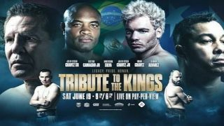 Watch Tribute to the Kings: Chavez Jr. vs Anderson Silva 6/19/21