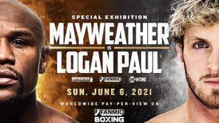 Watch Floyd Mayweather Jr. vs. Logan Paul 6/6/21 PPV Live