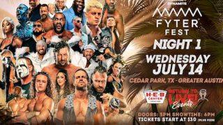 Watch AEW Fyter Fest Night 1 7/14/21 Live PPV Online