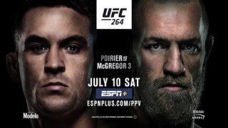 Watch UFC 264: Poirier vs. McGregor 3 7/10/21
