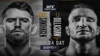 Watch UFC Fight Night Vegas 32: Sandhagen vs. Dillashaw 7/24/21