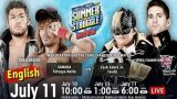 NJPW Summer Struggle In Sapporo 7/11/21