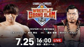 Watch NJPW Wrestle Grand Slam in Tokyo Dome 2021 7/25/21