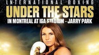 Watch Boxing Under The Stars: Kim Clavel vs. Maria Soledad Vargas 8/28/21