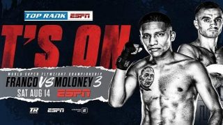 Watch Boxing: Franco vs. Moloney 8/14/21