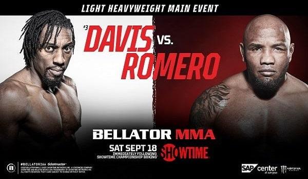 Bellator 266 Davis vs. Romero