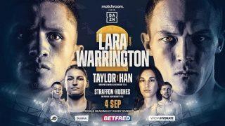 Boxing: Lara vs. Washington 2 9/4/21