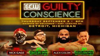 GCW Guilty Conscience 9/2/21