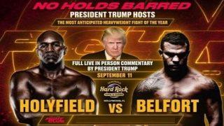 Triller Fight Club III: Evander Holyfield vs Belfort 9/11/21