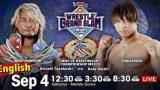 NJPW WRESTLE GRAND SLAM in MetLife Dome 9/4/21