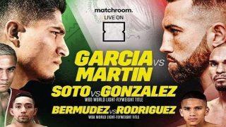 Garcia vs. Martin 10/16/2021