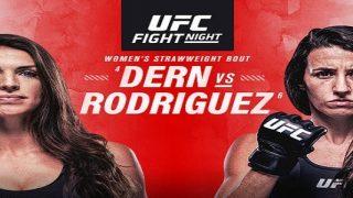 UFC Fight Night Vegas 39: Dern vs Rodriguez 10/9/2021